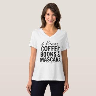 Jag älskar kaffebokar & Mascara Tee