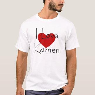 Jag älskar kamen tee shirt