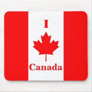 Jag älskar Kanada Mousepad Mus Mattor