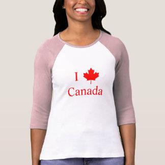 Jag älskar Kanada T-shirts