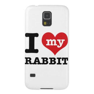 Jag älskar kanin galaxy s5 fodral