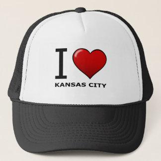 JAG ÄLSKAR KANSAS CITY, MO - Missouri Truckerkeps