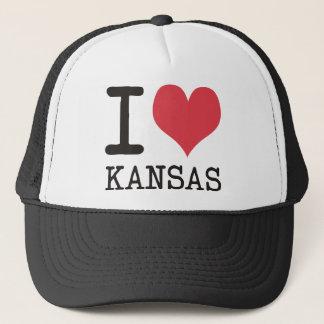 Jag älskar Kansas - produkter & designer! Truckerkeps