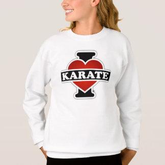 Jag älskar Karate Tröja