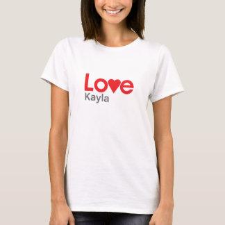 Jag älskar Kayla Tee