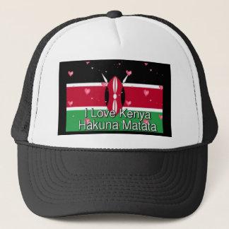 Jag älskar! Kenya Hakuna Matata Truckerkeps