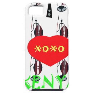 Jag älskar Kenya XOXO iPhone 5 Cover