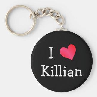 Jag älskar Killian Rund Nyckelring