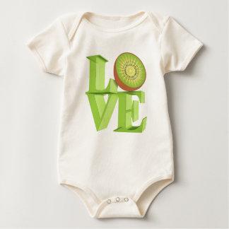JAG ÄLSKAR KIWIEN (kiwiar/Kiwibär) Body För Baby