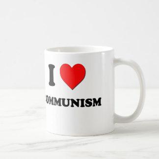 Jag älskar kommunism kaffemugg