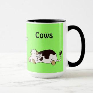 Jag älskar kor mugg