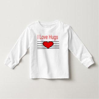 Jag älskar kramar tee shirts