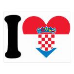 Jag älskar Kroatien Vykort