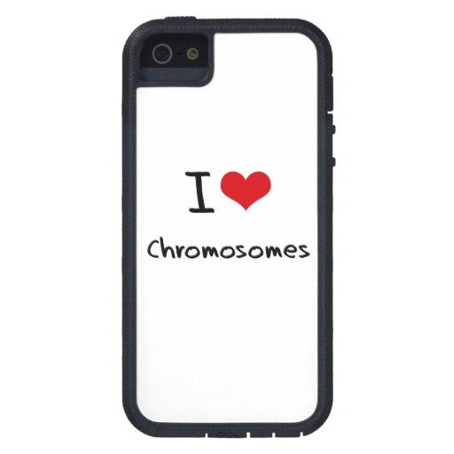 Jag älskar kromosomer iPhone 5 cases