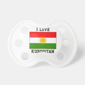 Jag älskar kurdistanen napp för barn