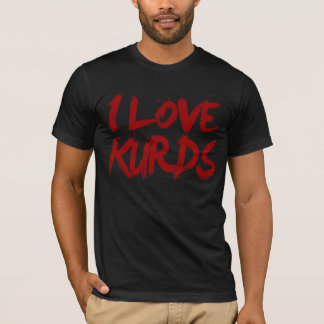 Jag älskar Kurds coolt T-shirt