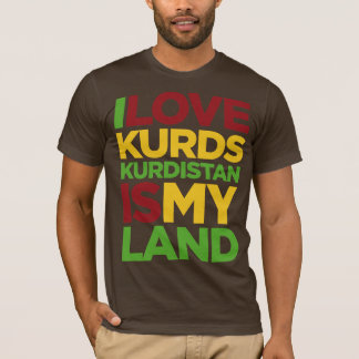 Jag älskar Kurds & kurdistanen Tröja