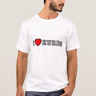 Jag älskar kurds t-shirt