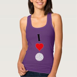 Jag älskar kvinna för volleyboll (för hjärta) tröja