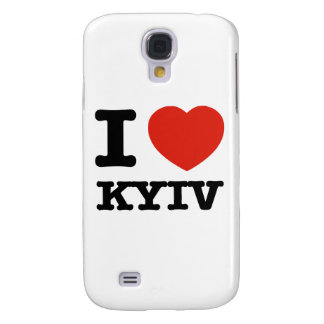 Jag älskar Kyiv Galaxy S4 Fodral