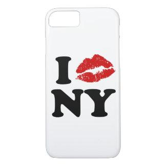 Jag älskar kyssande läppar New York | för röd