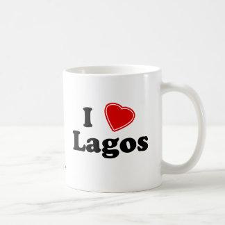 Jag älskar Lagos Kaffemugg