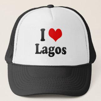 Jag älskar Lagos, Nigeria Truckerkeps