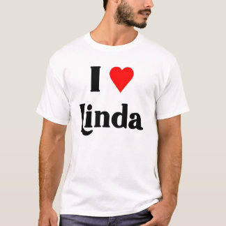 Jag älskar Linda Tee Shirts