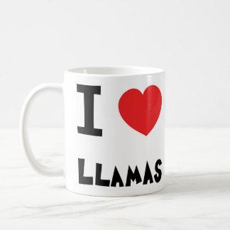Jag älskar Llamas Kaffemugg