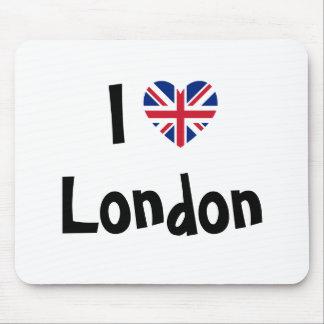 Jag älskar London Musmatta
