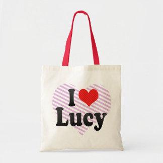 Jag älskar Lucy Tygkasse