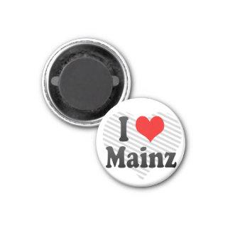 Jag älskar Mainz, Tyskland Magnet
