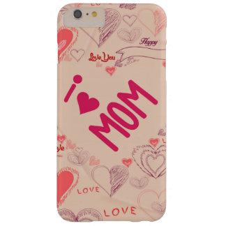 jag älskar mammor så mycket med hjärtor barely there iPhone 6 plus skal