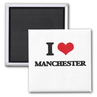 Jag älskar Manchester Magnet