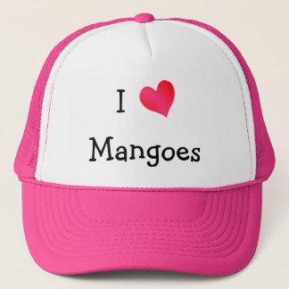 Jag älskar mango truckerkeps