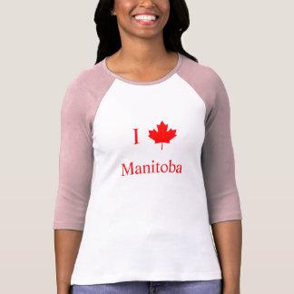 Jag älskar Manitoba Tshirts