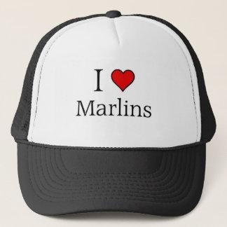 Jag älskar marlins truckerkeps