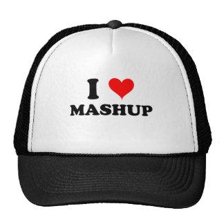 Jag älskar Mashup Baseball Hat