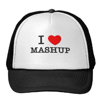 Jag älskar Mashup Kepsar