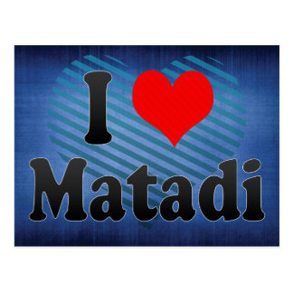 Jag älskar Matadi, Kongofloden Vykort