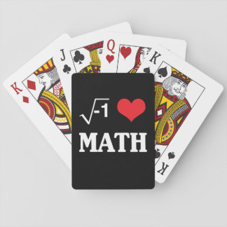 Jag älskar Math Kortlek