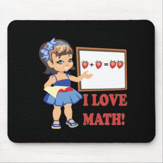 Jag älskar Math Musmatta