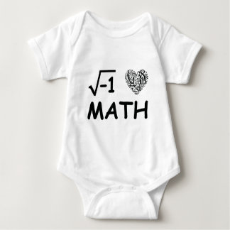 Jag älskar math t-shirts