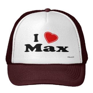 Jag älskar max keps