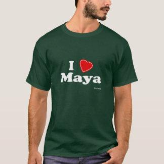 Jag älskar Maya Tee Shirts