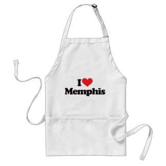 Jag älskar Memphis Förkläde