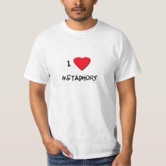 Jag älskar metaforer tröjor