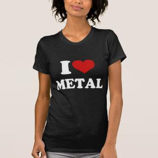 Jag älskar metall t-shirt