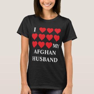 Jag älskar min afghanska make tee shirt
