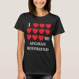 Jag älskar min afghanska pojkvän tee